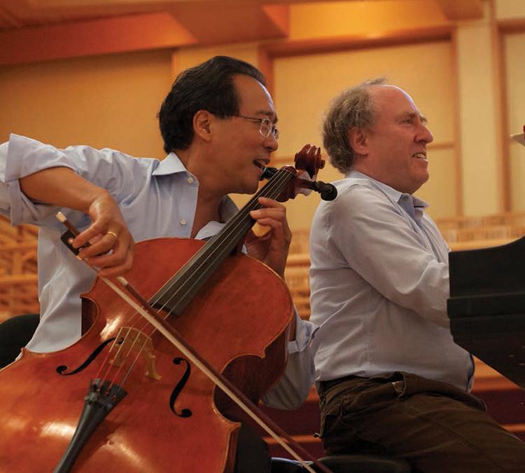 Yo-Yo Ma plays Carruthers Cello