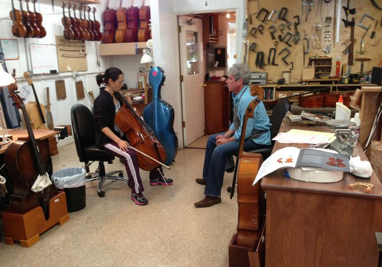 Violin making Safari – Pacific Northwest    2013