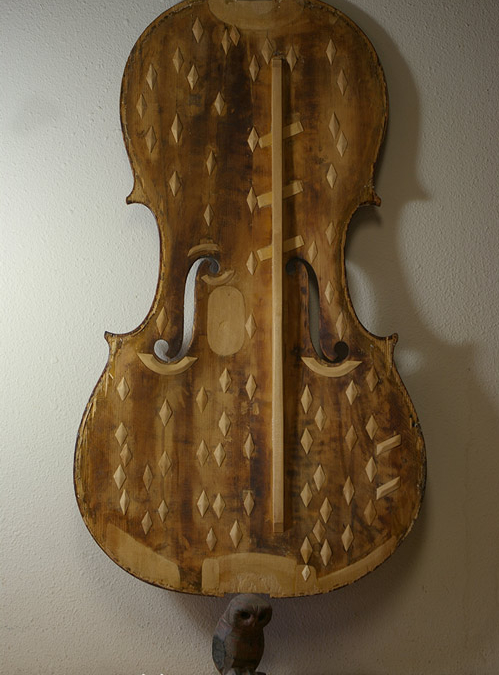 Beauty in violin repairs