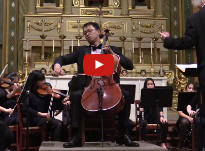 Paul Hyun Cello Concerto Video